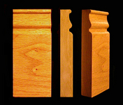 "Stair Parts - Plain - 1-1/16"" x 2-1/2"" x 5-3/4"" Plain Plinth Block"