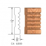 CA6800 Case Moulding