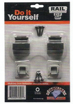 "Stair Parts - Accessories - Zip Clip, 2 Base Shoes 1/2"" Opening"